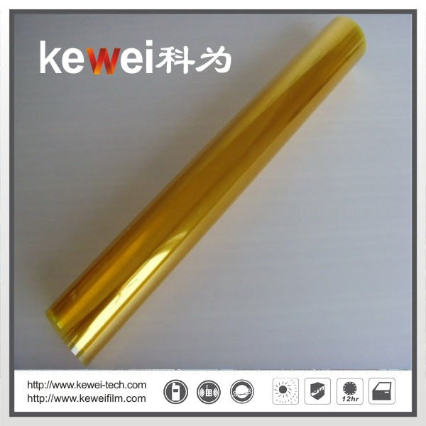 Window glass film/energy saving and decoration film (Gold Silver)