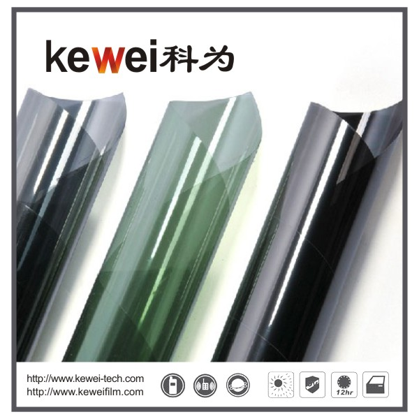 Window glass film/energy saving, Safety and Decorative Window Film,anti-explosion,99% UV rejection sunshade window film, Reflective film(CUN02#E)