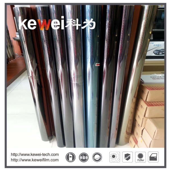 Window glass film/energy saving, Safety and Decorative Window Film,anti-explosion,99% UV rejection sunshade window film, Reflective film(CUN61#E)