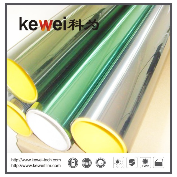 Window glass film/energy saving, Safety and Decorative Window Film,anti-explosion,99% UV rejection sunshade window film, Reflective film(CUN62#E)