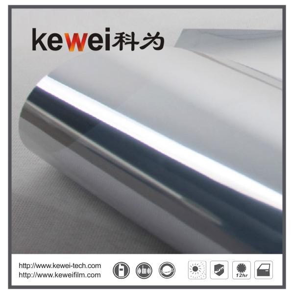Window glass film/energy saving and cheap prices,99% UV rejection sunshade window film, reflective film(G955)