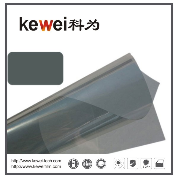 Window glass film/energy saving and cheap prices,99% UV rejection sunshade window film, reflective film(PK702)
