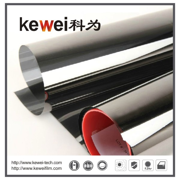 Safety and Decorative Window Film,anti-explosion,99% UV rejection sunshade window film, Reflective film, Primary Film, American Sputter technique V10S
