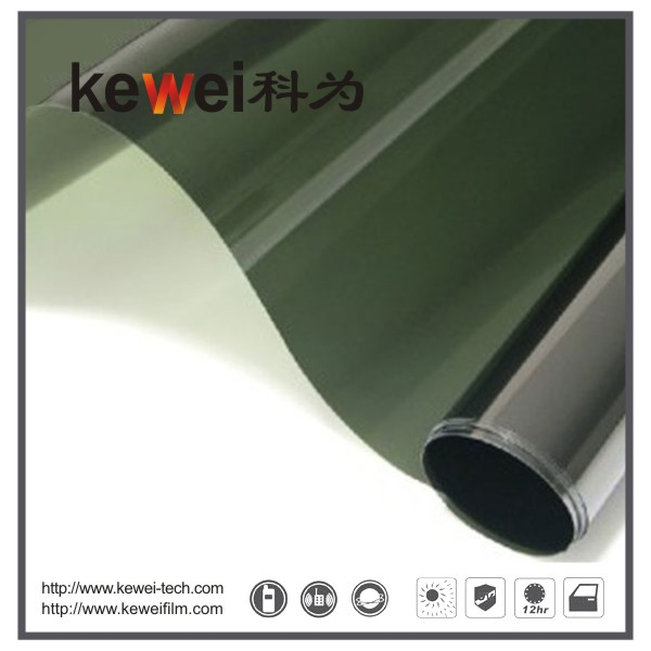 Window glass film/energy saving and cheap prices,99% UV rejection sunshade window film, reflective film(PK1170)