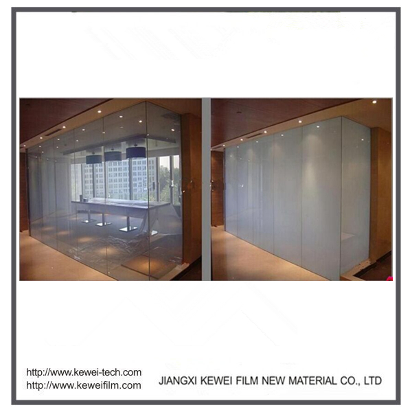 11mm 5+5 Kewei high clear Switchable glass, smart glass, turn on clear